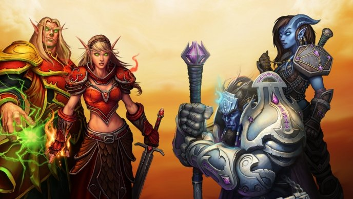 Começa o beta fechado de World of Warcraft: Burning Crusade Classic