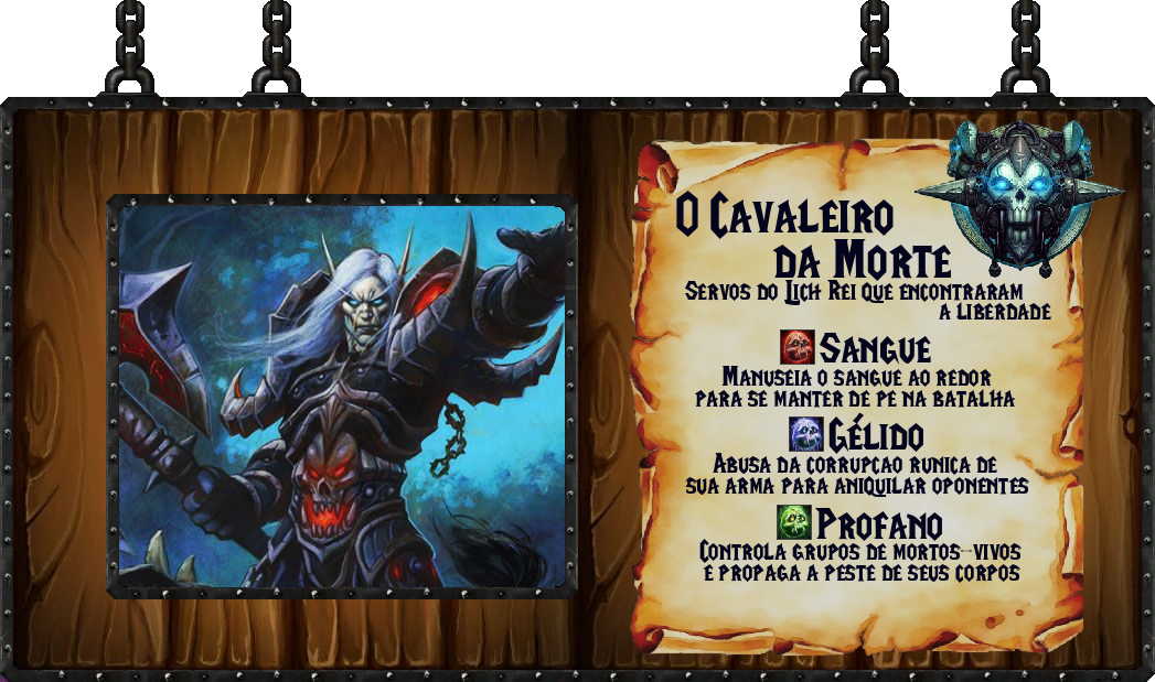 Tabela Cavaleiro da Morte World of Warcraft - 10-06