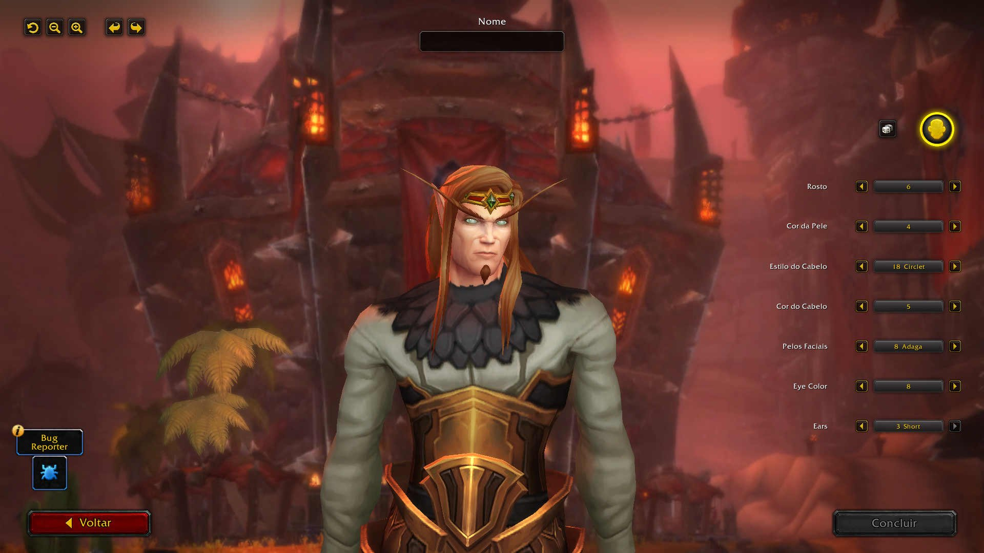 World of Warcraft - Alfa de Shadowlands - Criação de personagens dos Elfos Sangrentos