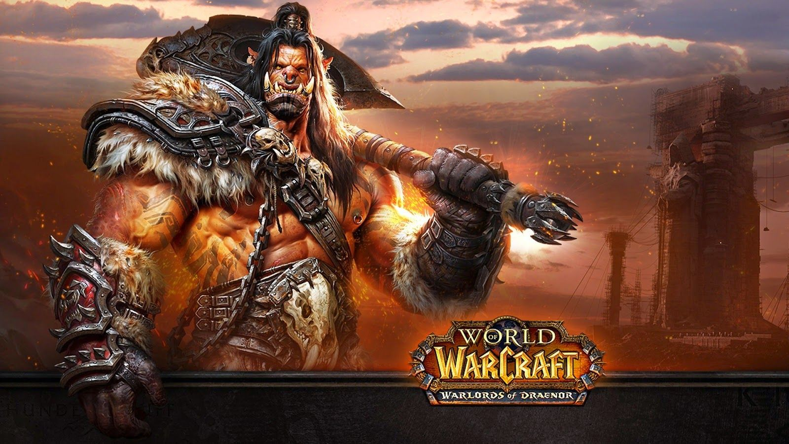 World of Warcraft Warlords KeyArt Wallpaper