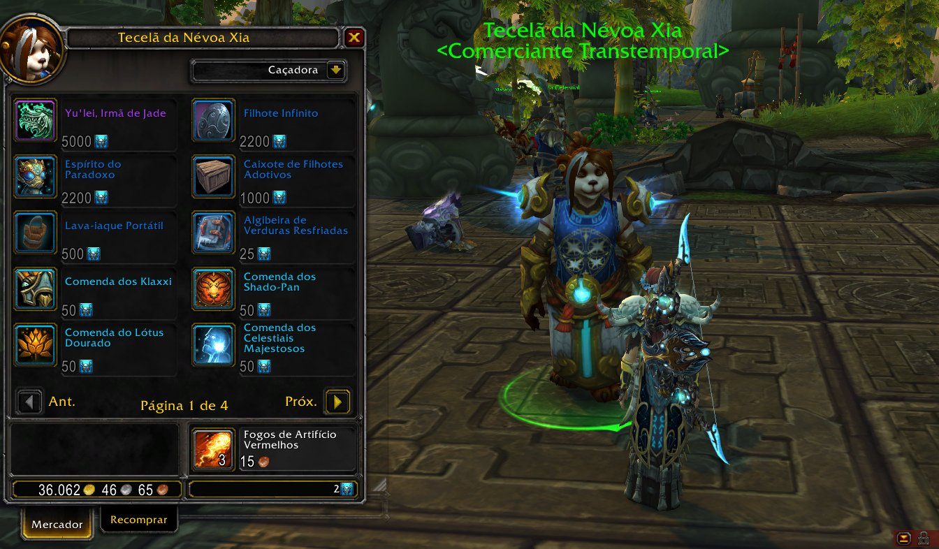 Comerciante transtemporal de Mists of Pandaria - 14-07-2020