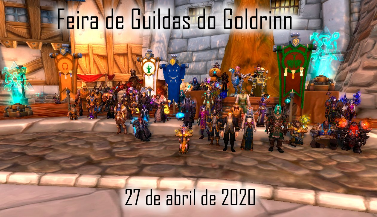 World of Warcraft RP - Feira de Guildas 01