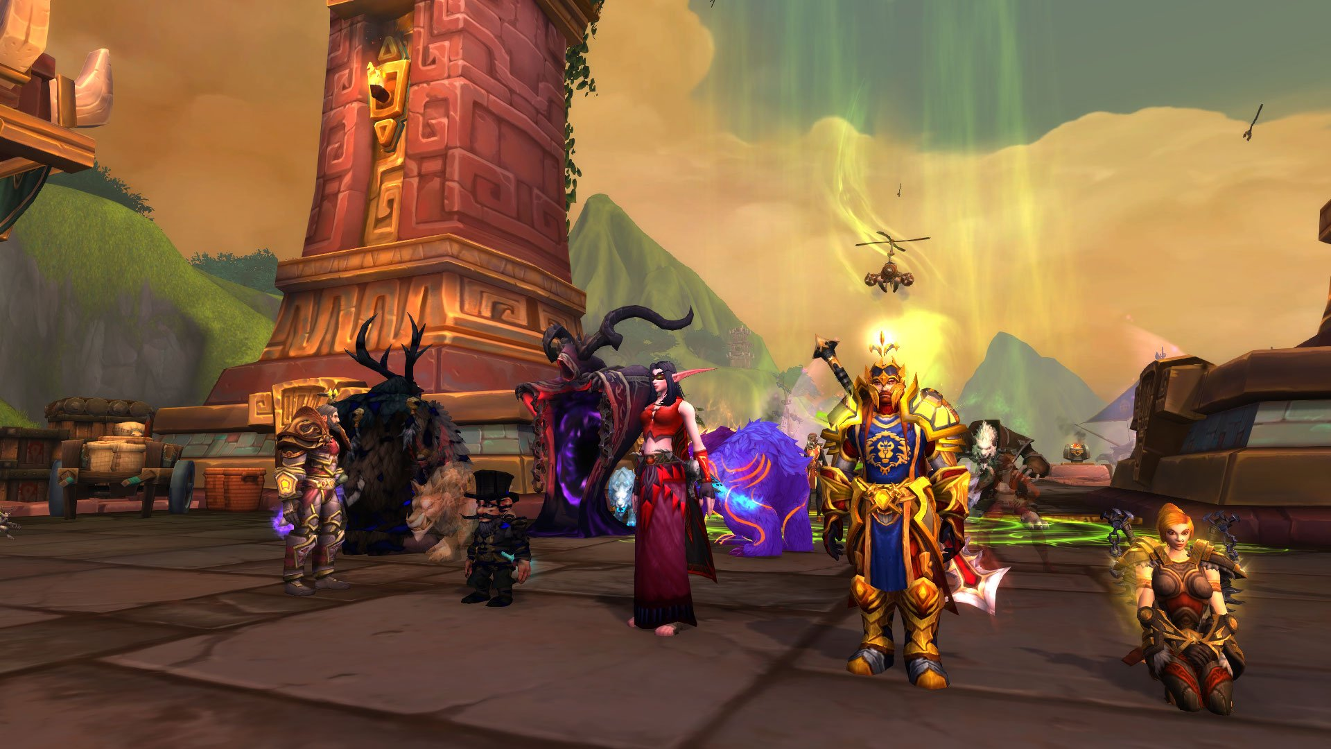 Grupo de raide em World of Warcraft