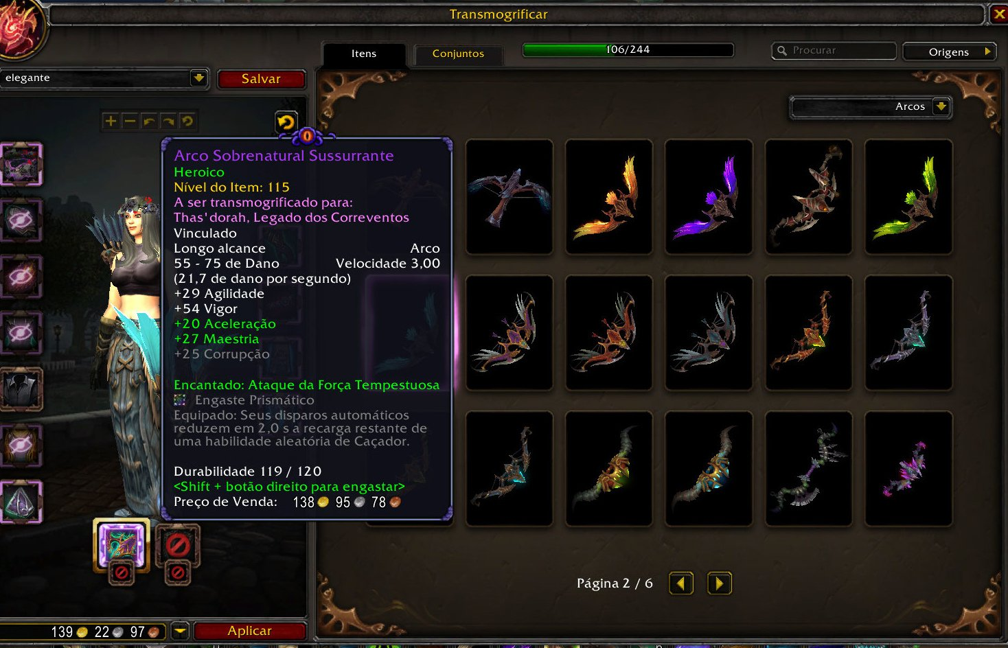 WoW Pré-Patch - Arco de Transmog de Legion 14-10-2020 - 04