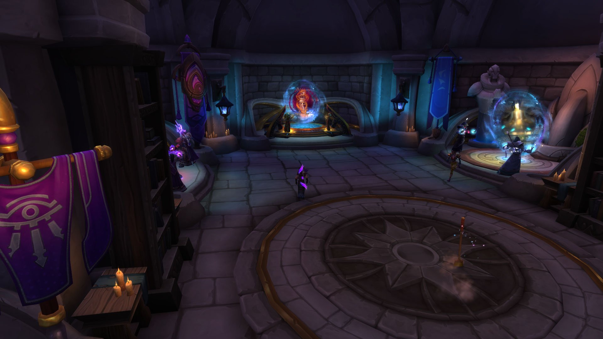WoW Battle for Azeroth - Portal para as Cavernas do Tempo 01