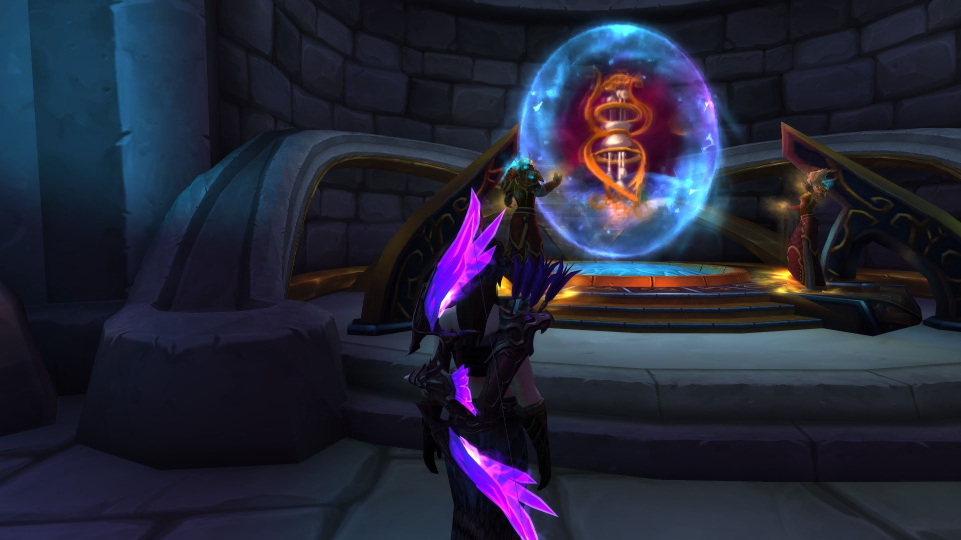 WoW Battle for Azeroth - Portal para as Cavernas do Tempo 02