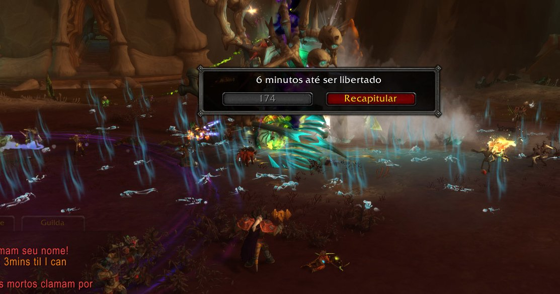 Morto no chefe de mundo no WoW 09-12