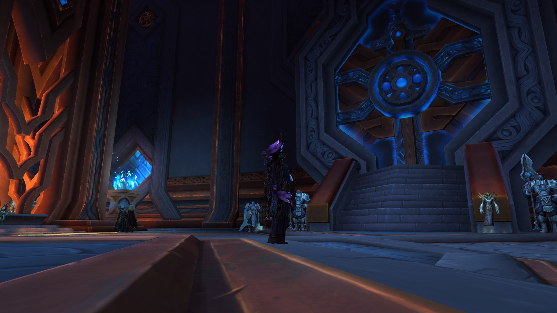 WoW Shadowlands - Na frente do Grande Cofre 01